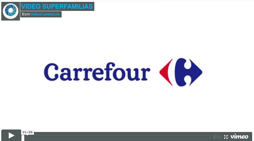 Carrefour video super familias