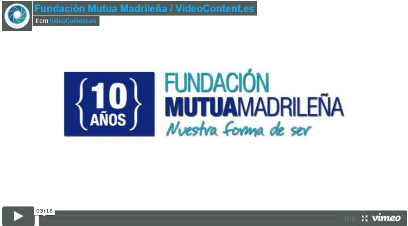 video fundacion mutua madrileña