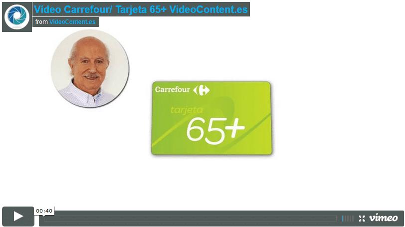 Video tarjeta 65 carrefour
