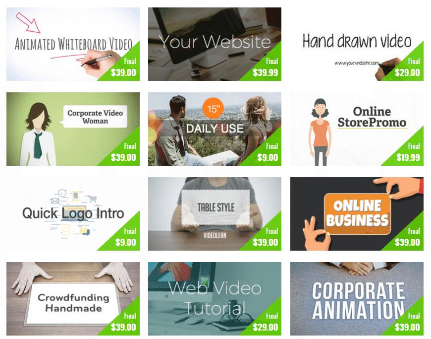 Plantillas de vídeo profesionales | Videocontent Tu vídeo desde 350€ | plantillas de video |
