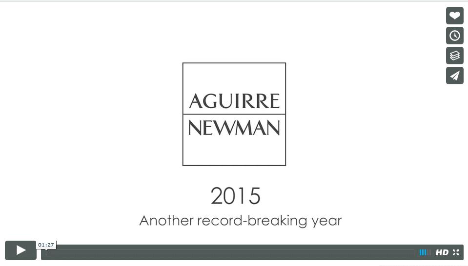 Video de empresa para Aguirre Newman
