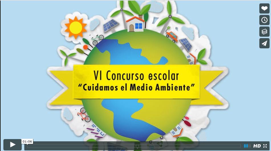 Video de empresa animado VI Concurso escolar Cuidamos el medio ambiente