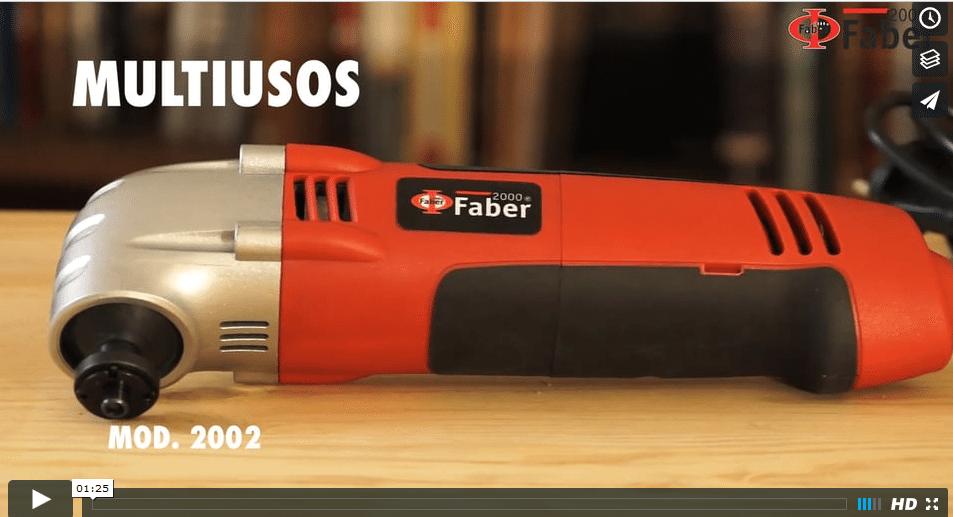 Video de producto multiusos.2002 para empresa Faber 2000