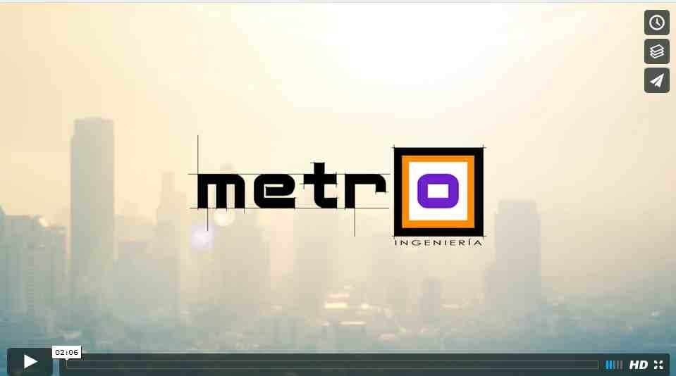Video con fotos para empresa Metro Ingenieria