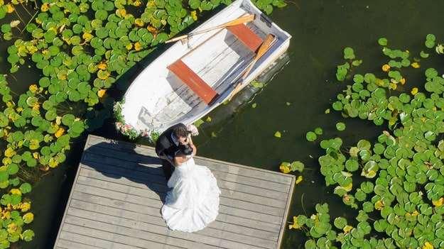 Vídeos de boda con drones