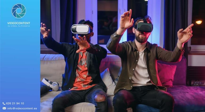 Vídeos para gafas de realidad virtual videocontent