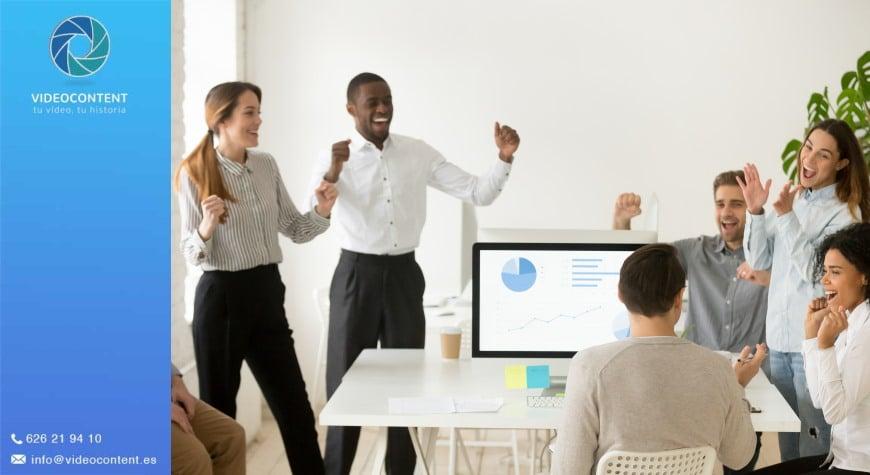 Vídeos motivacionales para empresas: ejemplos | Videocontent Tu vídeo desde 350€ | videos motivacionales para empresas videocontent | video, blogs, actualidad