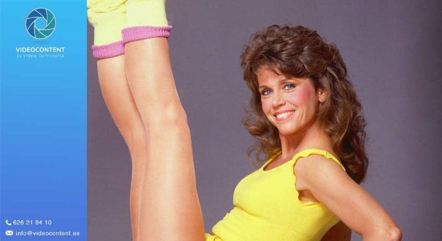Jane Fonda: Vídeos de gimnasia | Videocontent Tu vídeo desde 350€ | jane fonda videos de gimnasia | video