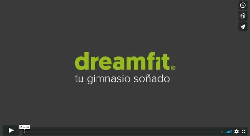 Vídeo corporativo para Dreamfit