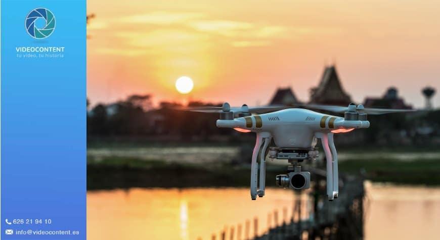 Vídeos con drones profesionales: Ejemplos y aspectos a tener en cuenta | Videocontent Tu vídeo desde 350€ | videos con drones profesionales | video