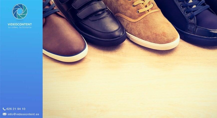 Vídeos para promocionar calzado