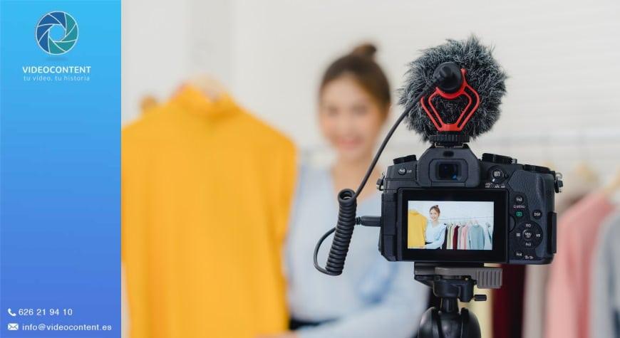 vídeos promocionales de productos